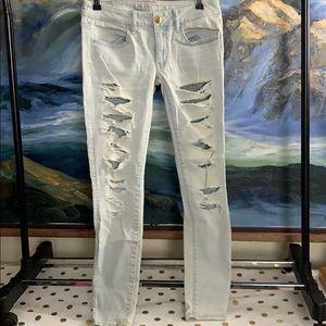 AE super stretch skinny jeans size 6
